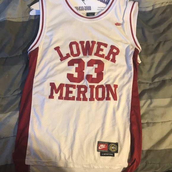 best authentic f6dd1 e543d Kobe Bryant HS Lower Merion Jersey. For sale. NWT
